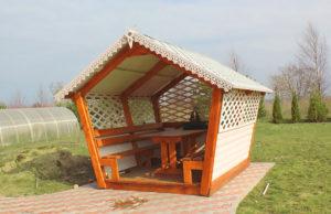 Деревянные беседки для дачи в Иваново