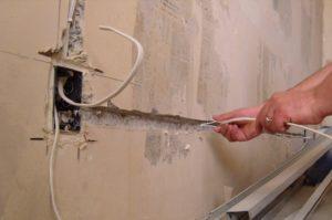 Демонтаж электропроводки, вентиляции, канализации и отопления в Иваново