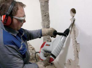 Штробление стен под проводку в Иваново