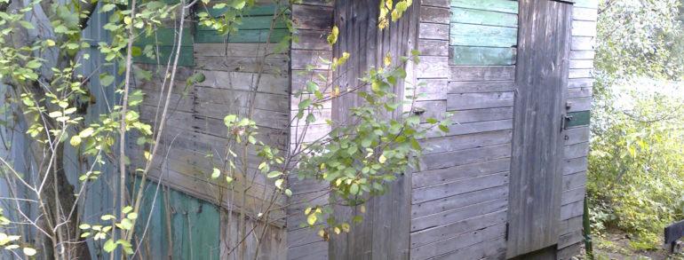Подъём покосившегося сарая (сады «Кранэкс 3»)