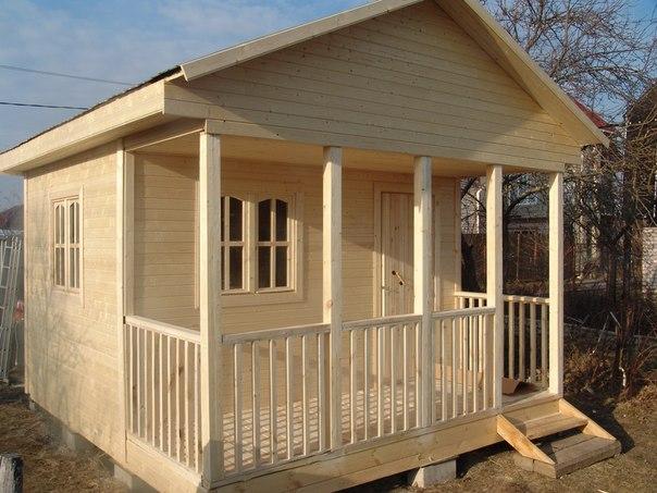 Строительство дачного домика №1