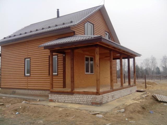 Строительство каркасного дома №3