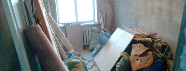 Вывоз строительного мусора (ул. Ермака)